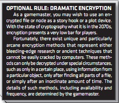 Dramatic encryption