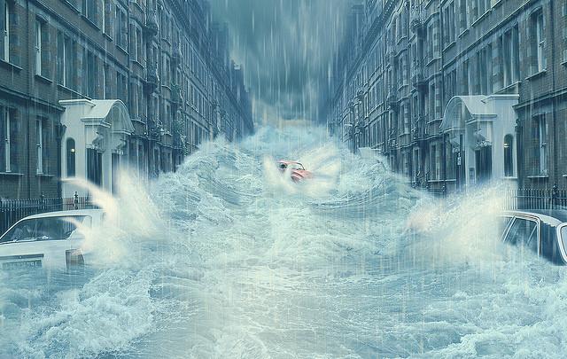 Flood london