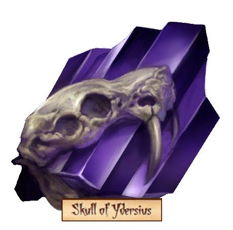 Skull of ydersius