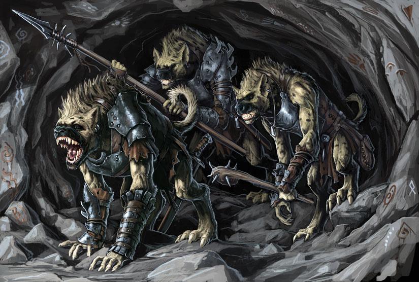 Gnoll defenders by ben wootten