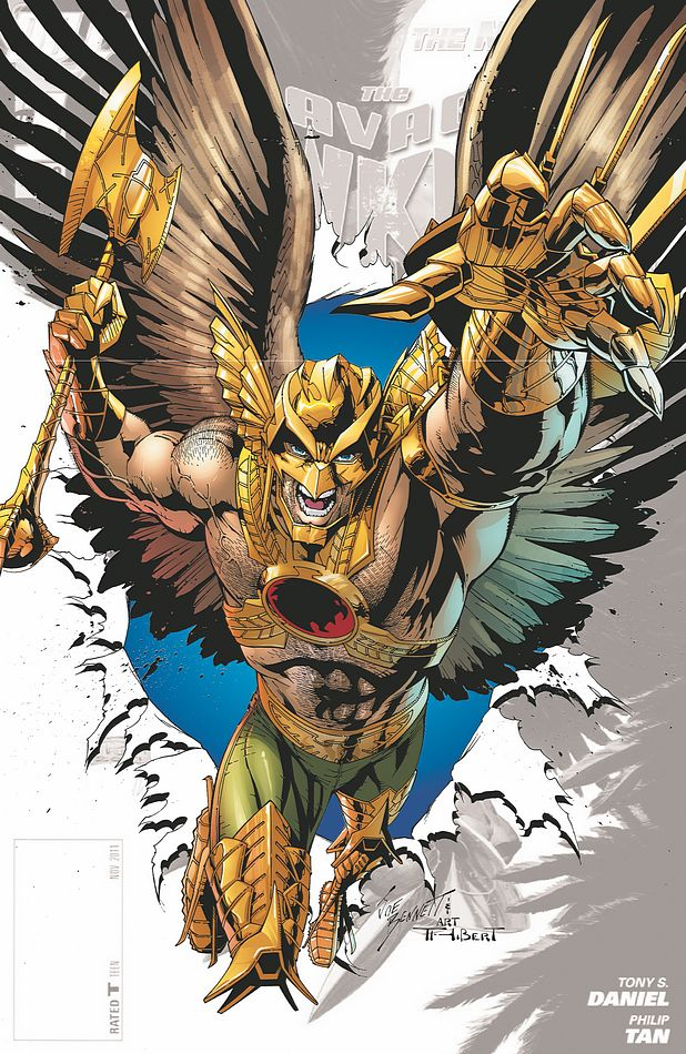 The savage hawkman 0