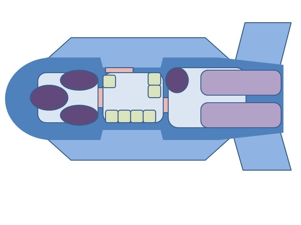 Krupp komet interior