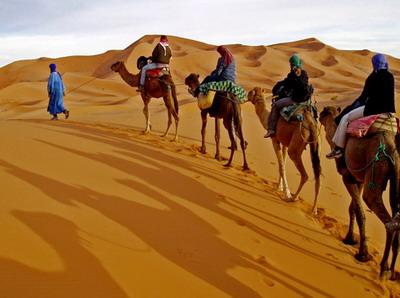 Trekking with moroccos berbers