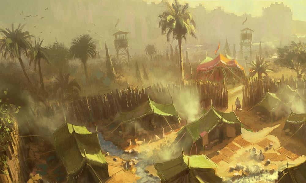 Halfling camp