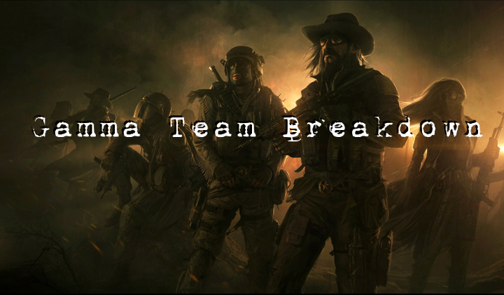 Gamma team breakdown