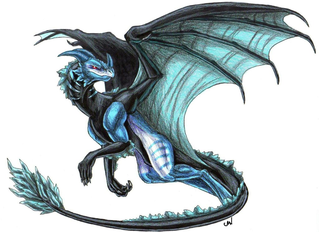 Ice dragon by randompickle1 d5mki7j