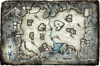 Map seven pillared hall small
