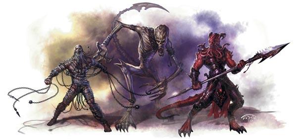 Slave devils