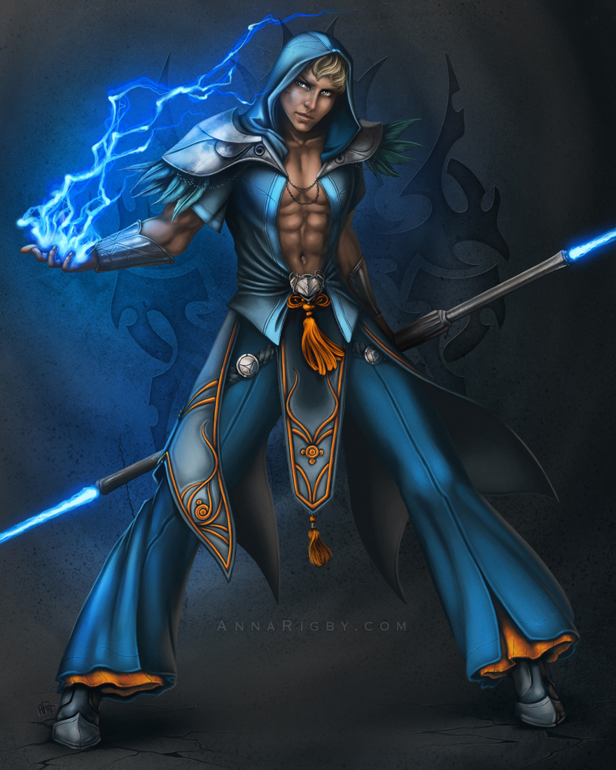 Male mage
