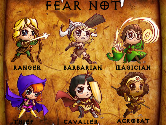 Chibi adventurers