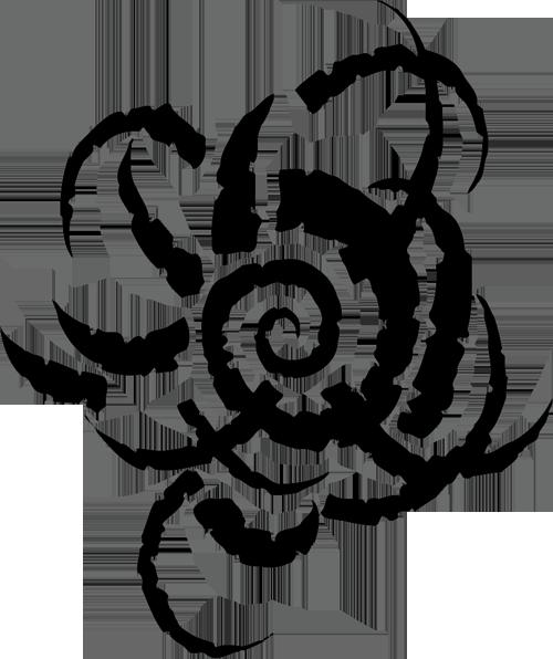 Tribe black spiral dancers