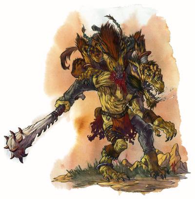 Gnoll ferocity by vinod rams