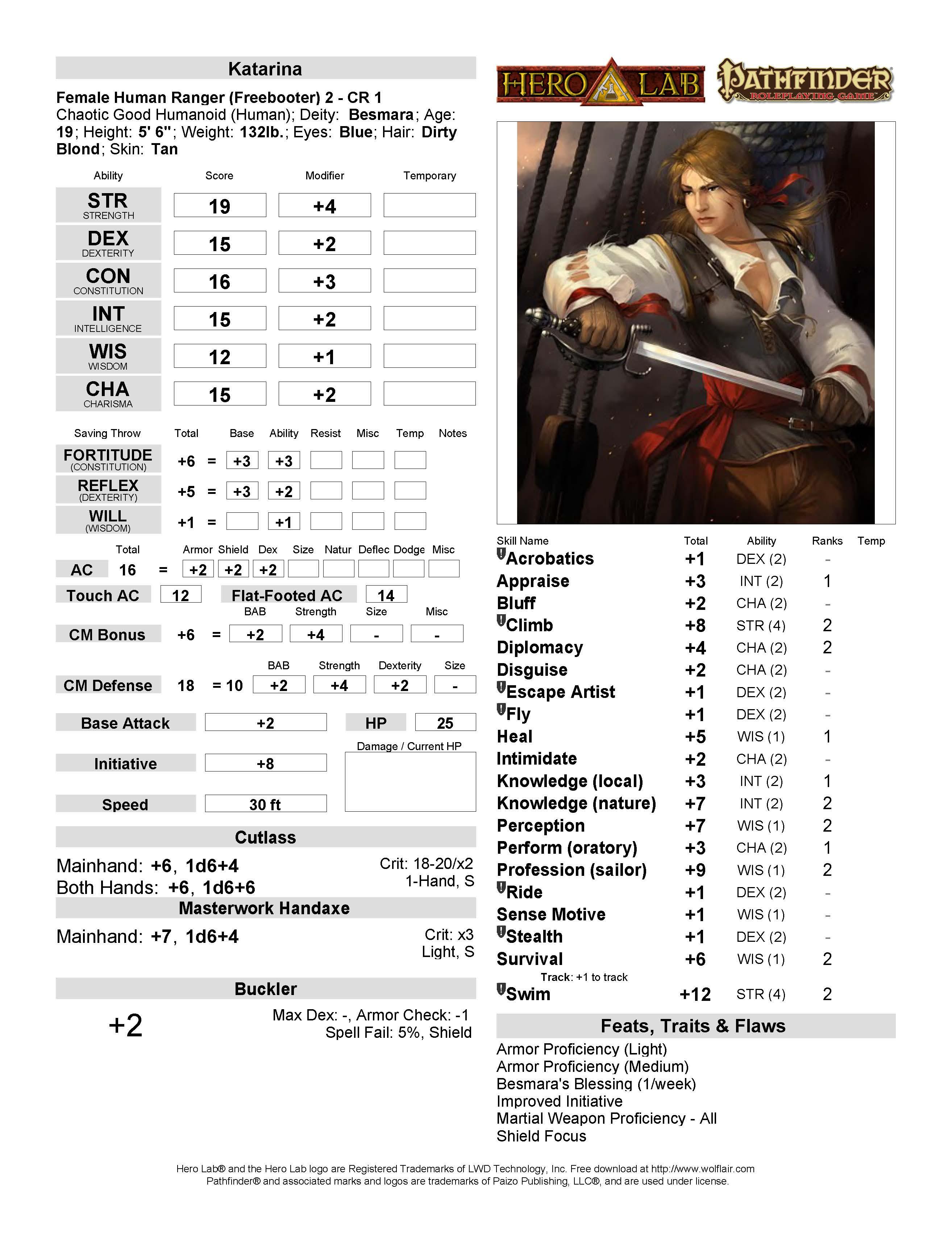 Katarina page 1