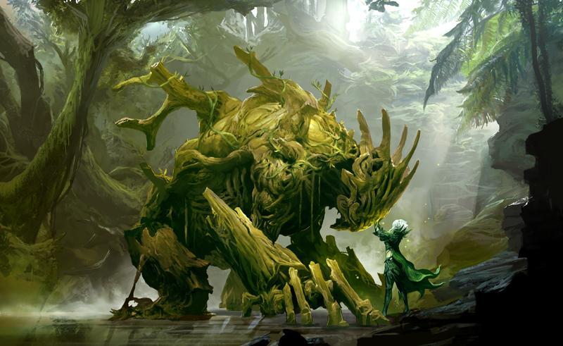 Sylvari09conceptart the druid