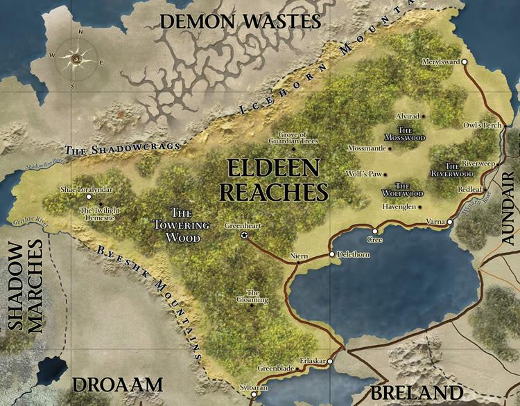 Dd 4th edition eberron map eldeen reach