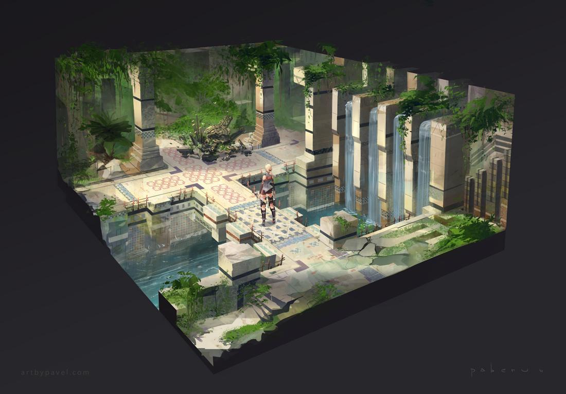 Temple ent diorama 05