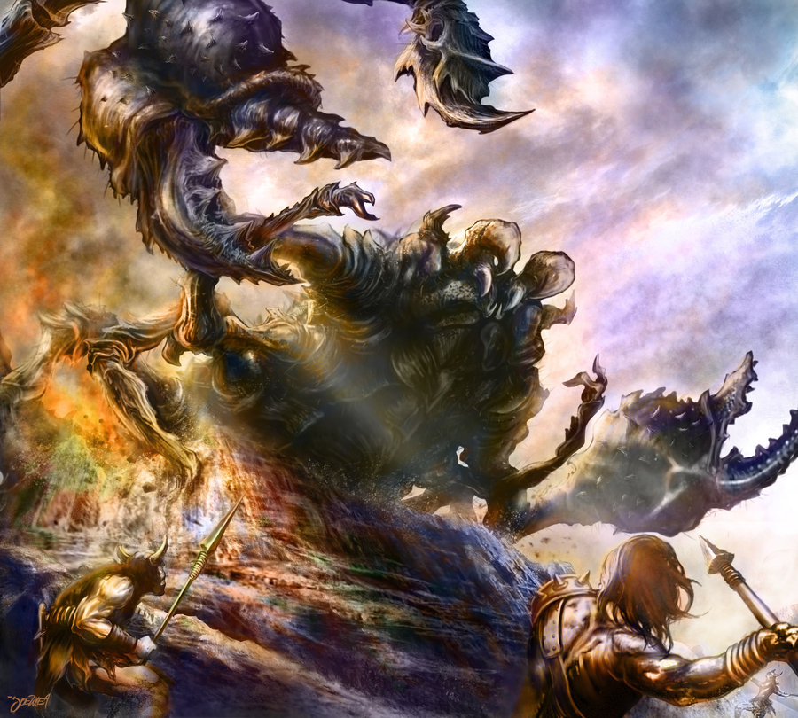 Giant scorpion by loztvampir3