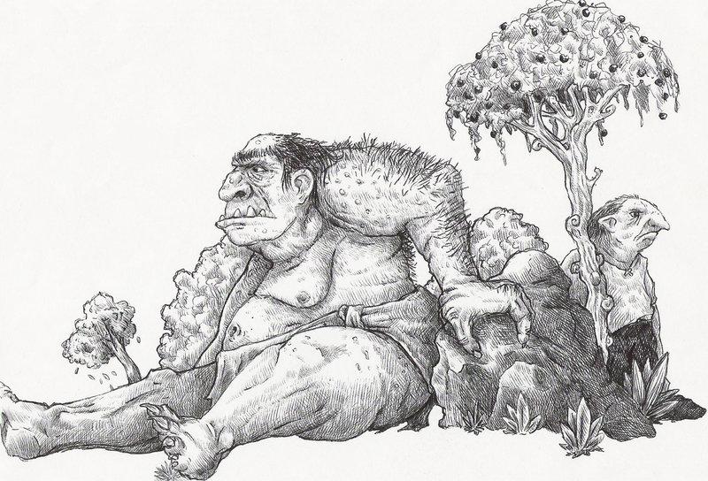 Ogres    by sethmonster