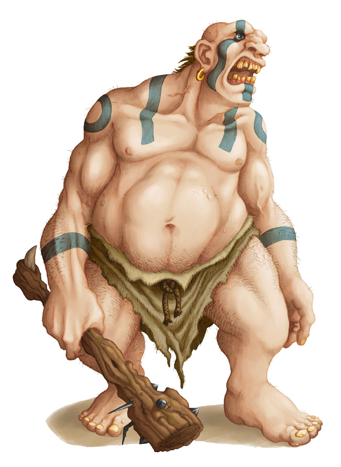Ds  monsters   ogre by willow wisp