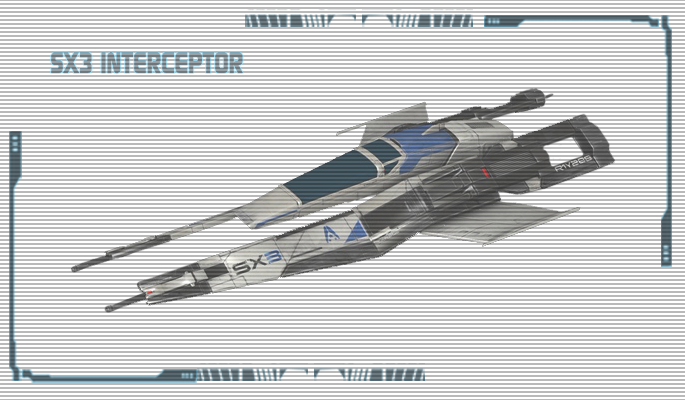 Vehicle sx3 interceptor