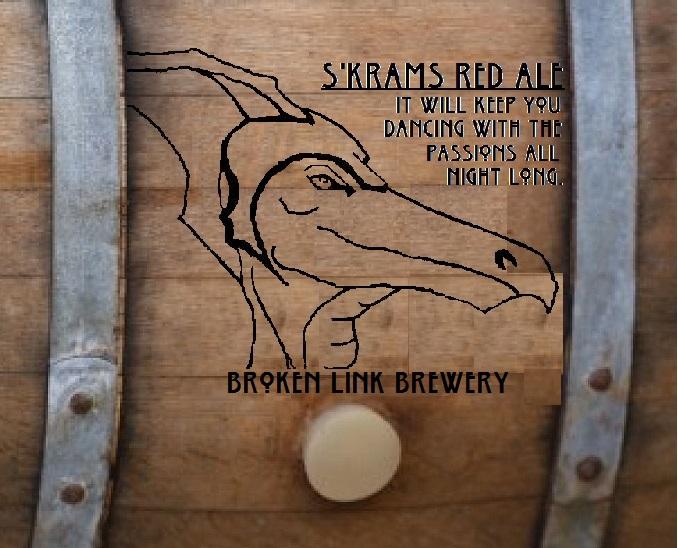 Skrams labeled barrel