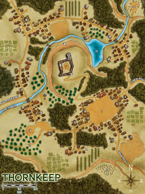 Thornkeep map