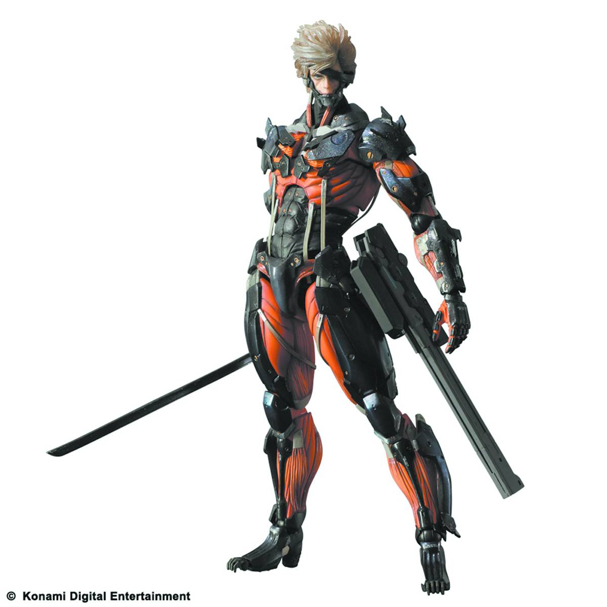Metal gear play arts kai raiden red ver 1359663220