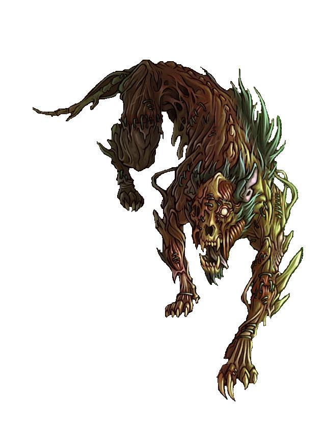 Flesh golem hound