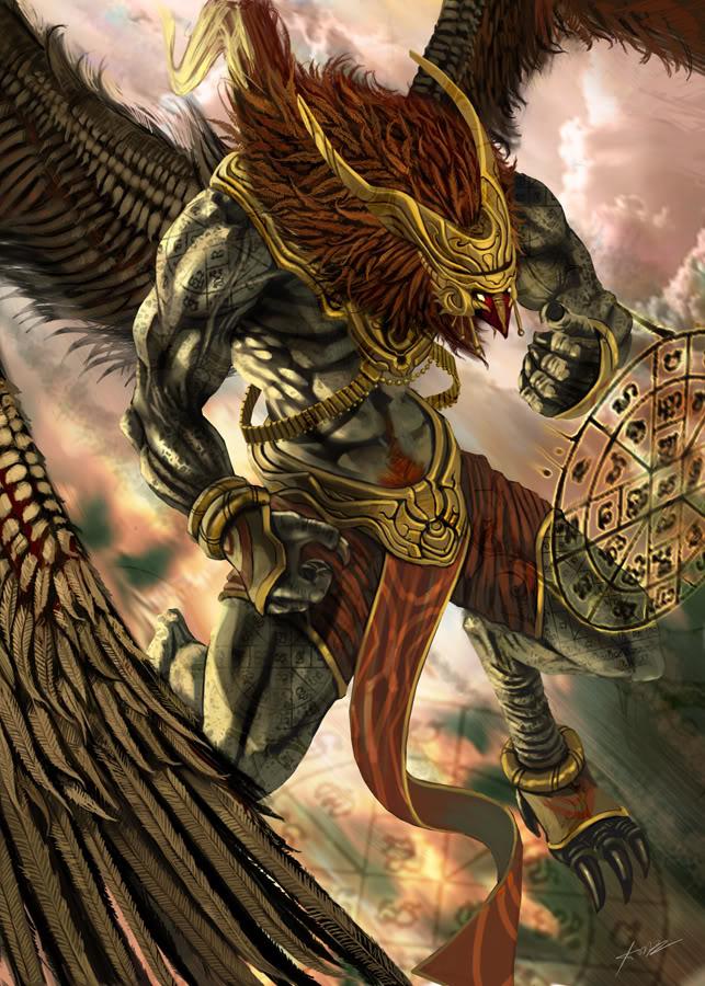 Garuda by jessada nuy