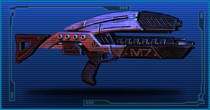 Gun m7 lancer