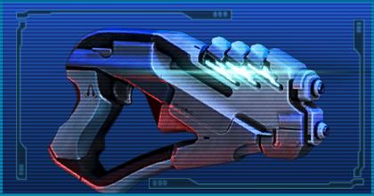 Gun arc pistol