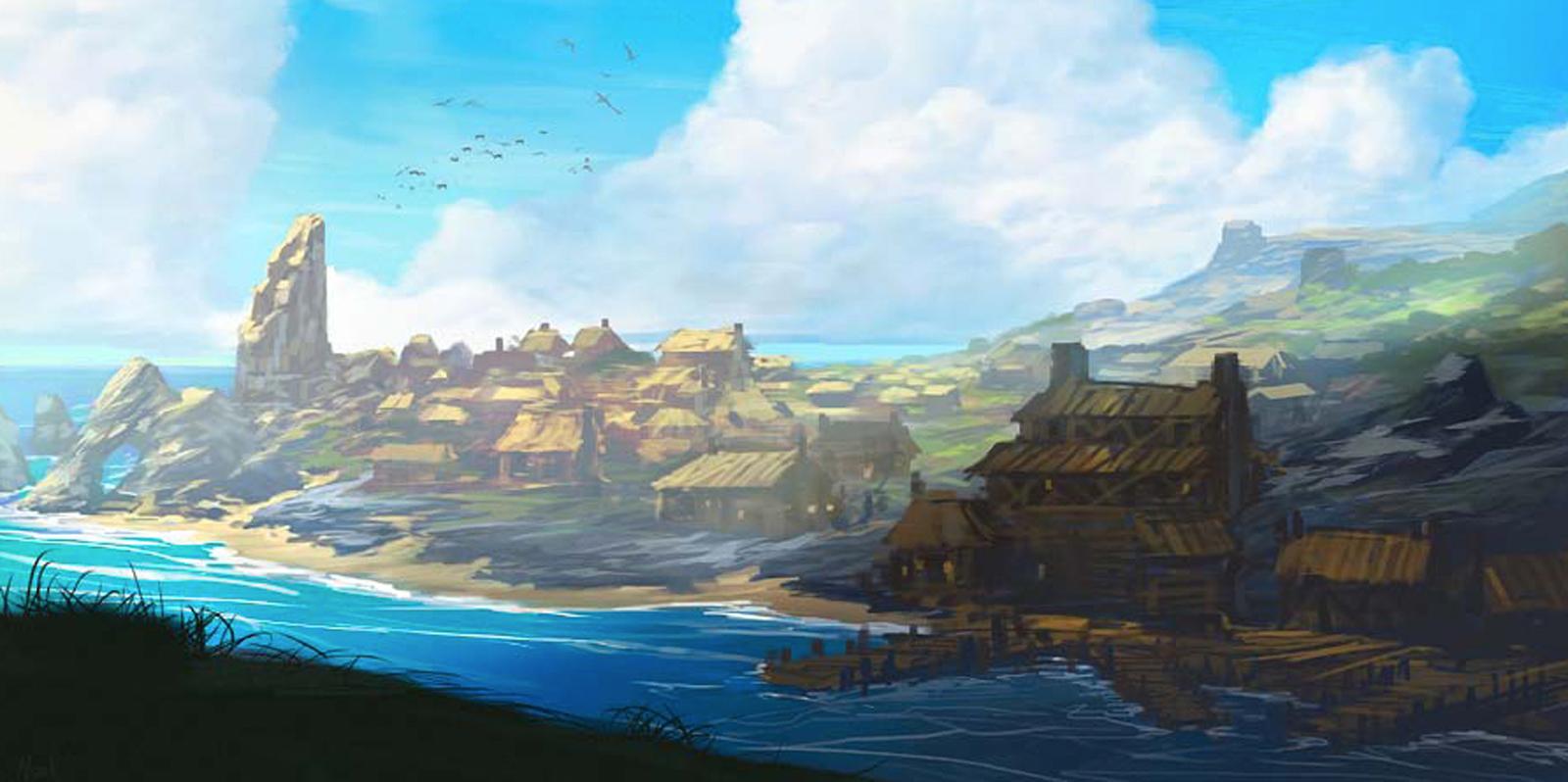 Sandpoint cityscape