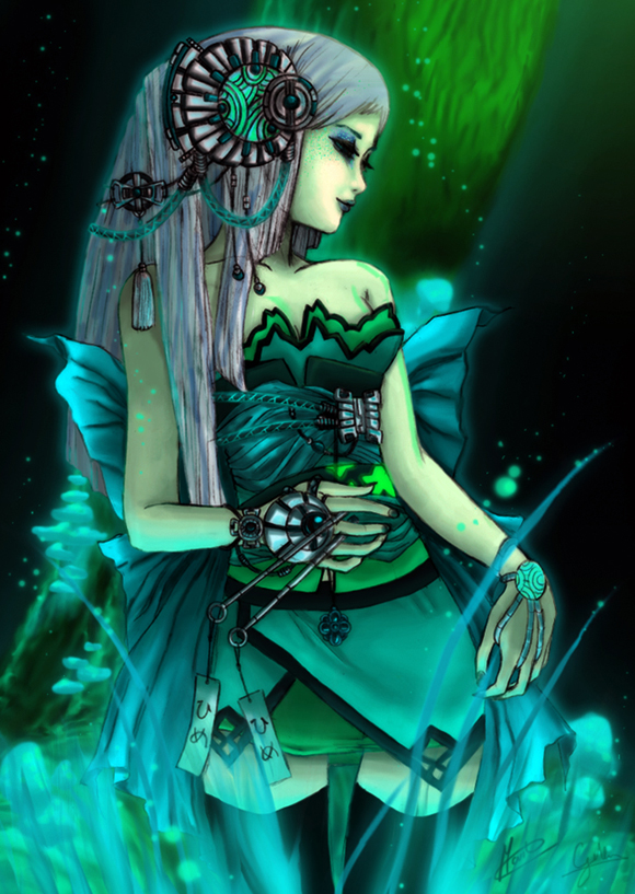 Earth goddess moonshine by avewa je me