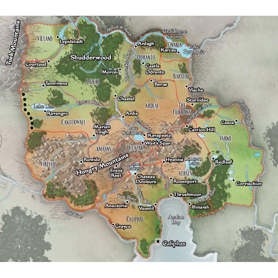 Ustalav   player map   square2
