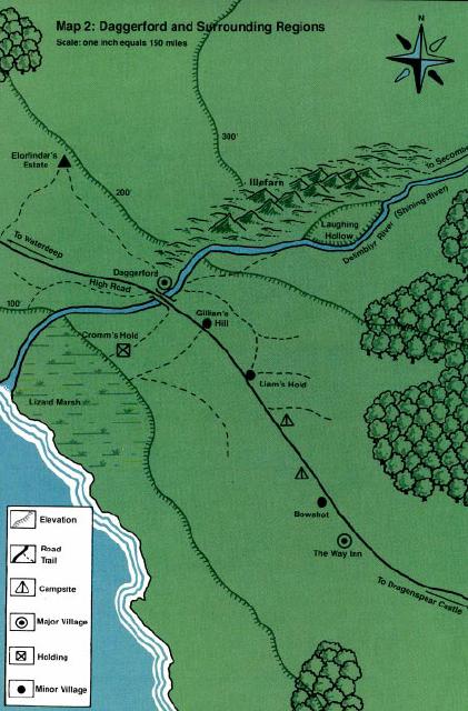 Rose Glen North Dakota ⁓ Try These Forgotten Realms Daggerford Map