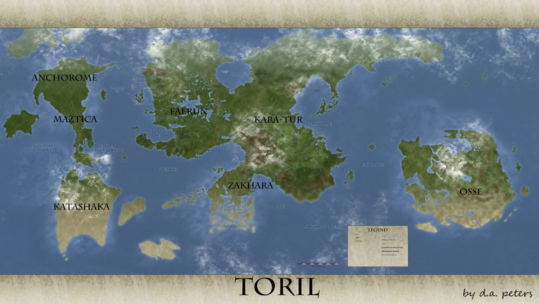 Toril map cloud test
