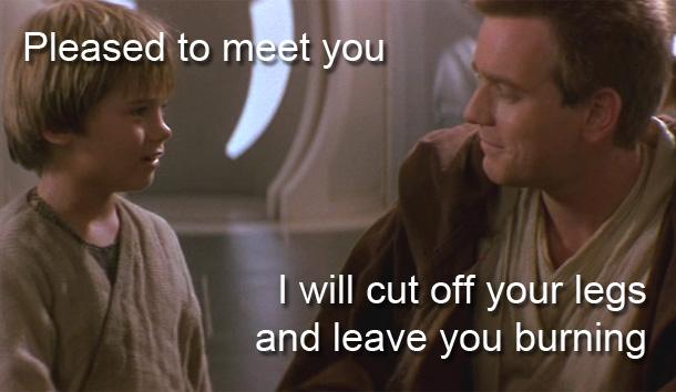 Obi wan anakin meeting