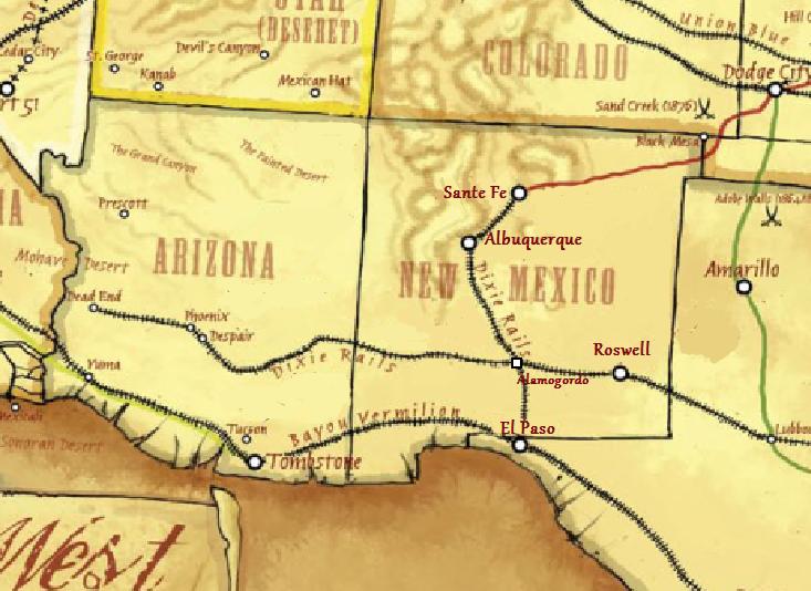 Deadlands map