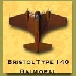 Bristol type 140 balmoral