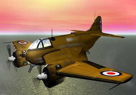 Plane balmoral