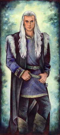 Llewyrr elf