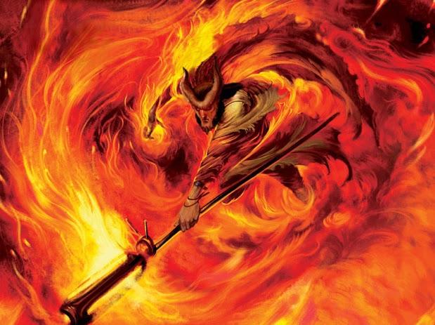 Tiefling fire