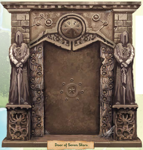 Door of seven stars