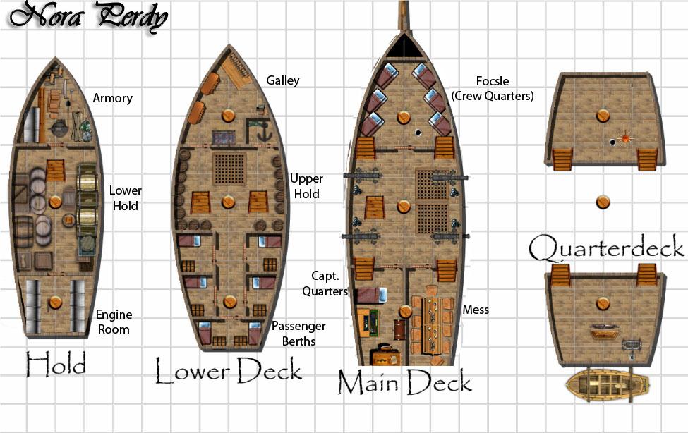 Deck plan nora