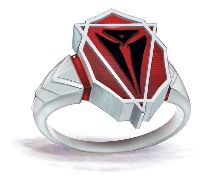 Asmodeus' Symbol on a Ring