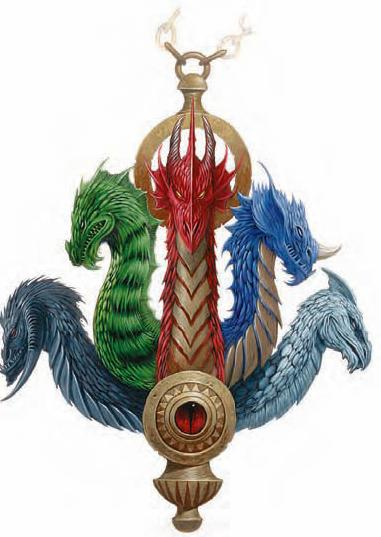 Tiamat's Symbol as a Censer
