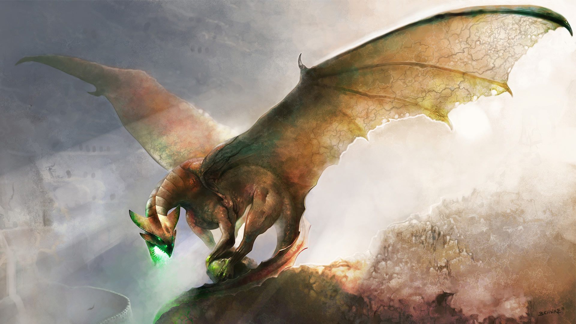 Copper dragon widescreen wallpaper wallpapers hunt.com