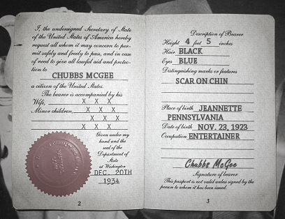 Chubbs passport