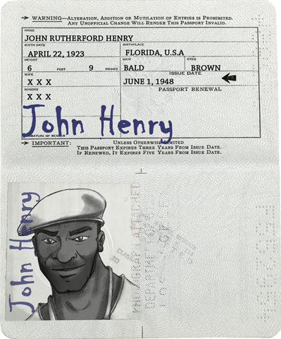 Passport johnhenry