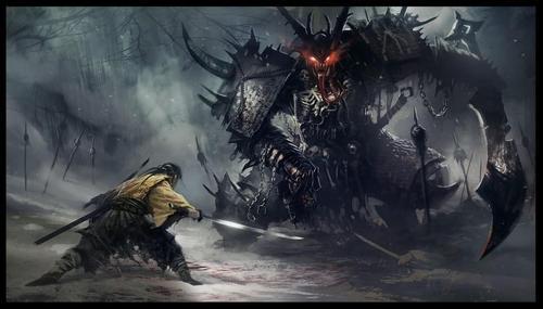 Ganka vs immortal demon final moments of his life.